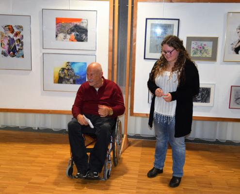 Ausstellung mit Bildern von Julia Neher