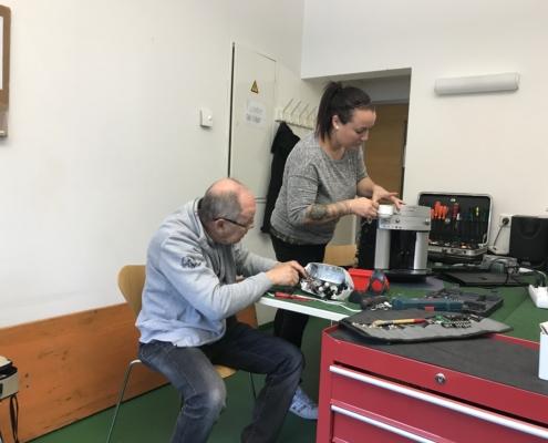 Reparatur Café Elektrik